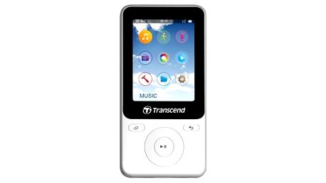 Transcend MP710 8 GB, bílá