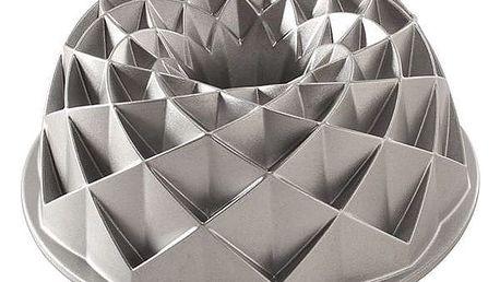 Nordic Ware Hliníková forma na bábovku Jubilee, šedá barva, kov