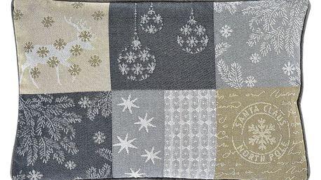 Sander Dekorační polštářek Northern stars béžová 32 x 48 cm