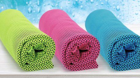 Chladicí ručník do fitka i na dovolenou