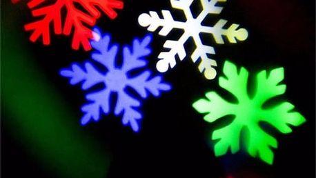 Laserové vánoční osvětlení, světelná senzace do do interiéru i exteriéru.