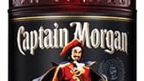 Captain Morgan Black Jamaica Rum 1l 40%
