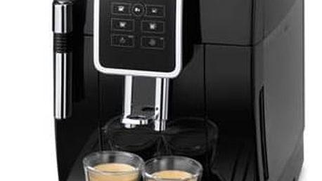Espresso DeLonghi Dinamica ECAM 350.15B černé Káva DeLonghi Kimbo 100% Arabica 250g zrnková (zdarma) + Navíc sleva 10 % + Doprava zdarma