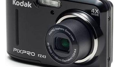 Digitální fotoaparát Kodak FZ43 (819900012224) černý