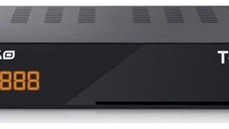 DVB-T přijímač Amiko T-665 (5999883022030) černý/plast