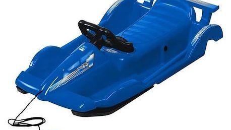 Boby AlpenGaudi AlpenRace plastové s volantem modré + Doprava zdarma