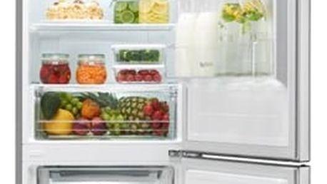 Kombinace chladničky s mrazničkou LG GBB60PZEFS nerez + DOPRAVA ZDARMA