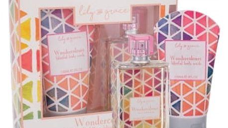 Lily and Grace Wondercolours dárková kazeta pro ženy toaletní voda 100 ml + sprchový gel 150 ml