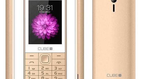 Mobilní telefon CUBE 1 F400 zlatý