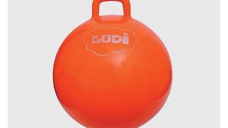 Skákací míč Ludi oranžový
