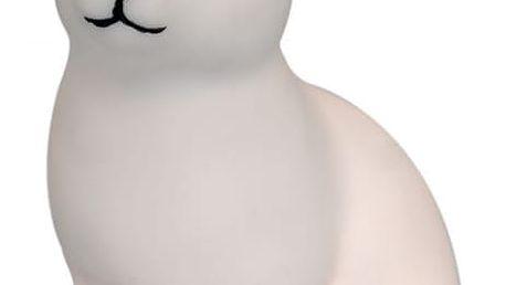 miniroom Noční lampička White Bunny, bílá barva, plast