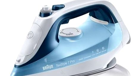 Žehlička Braun TexStyle 7 Pro SI7062BL modrá + Navíc sleva 10 % + Doprava zdarma