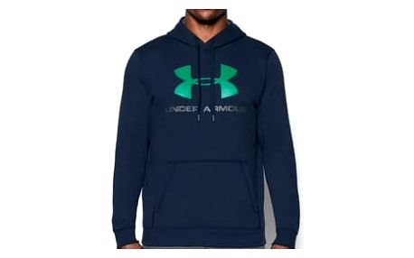 Pánská mikina Under Armour Rival Fitted Graphic Hoodie | 302294-410 | Modrá | M