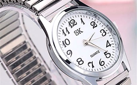 Náramkové hodinky s elastickým náramkem