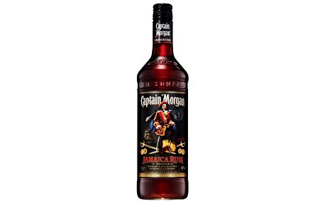 Captain Morgan Black Jamaica Rum 1l 40%