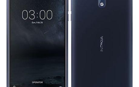 Mobilní telefon Nokia 3 Dual SIM (11NE1L01A13) modrý + DOPRAVA ZDARMA