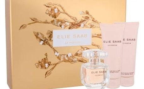 Elie Saab Le Parfum dárková kazeta pro ženy parfémovaná voda 50 ml + tělové mléko 75 ml + sprchový krém 75 ml