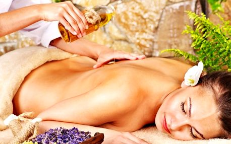 90minutová královská masáž celého těla