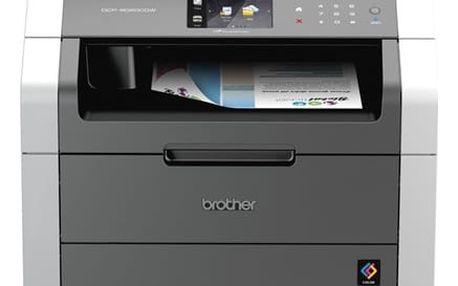 Tiskárna multifunkční Brother DCP-9020CDW (DCP9020CDWYJ1) šedá/bílá + DOPRAVA ZDARMA