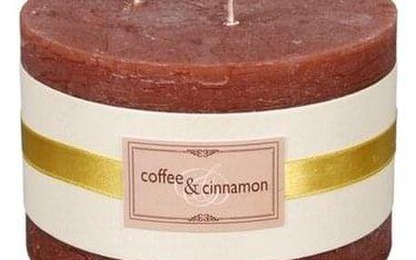 Dekorativní svíčka Elegance Káva a skořice pr. 13 cm