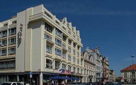 Plzeň: 3-6 dní s polopenzí, wellness a lahví vína