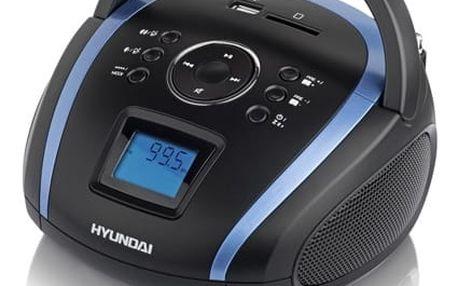 Radiopřijímač Hyundai TR 1088B T3BBL černý/modrý