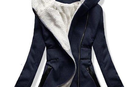 Dámský kabát Sareza modrý