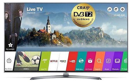 Televize LG 49UJ7507 stříbrná/titanium + Doprava zdarma