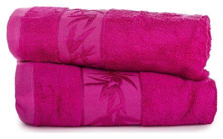Jahu dárková sada ručníků bambus Hanoi růžová