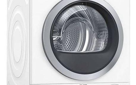 Sušička prádla Bosch WTW876WBY bílá + Navíc sleva 10 %