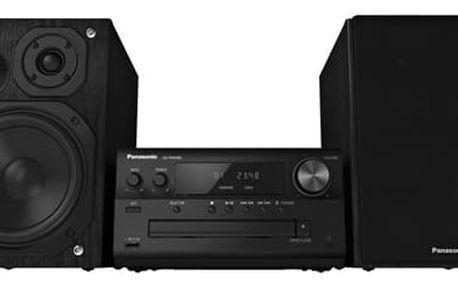 Mikrosystém Panasonic SC-PMX80EG-K (SC-PMX80EG-K) černá Sluchátka Panasonic RP-HF300E-K černá