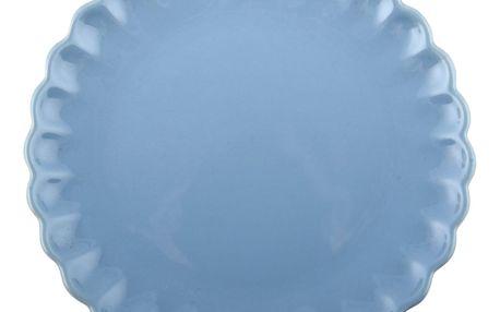 IB LAURSEN Talíř Mynte nordic sky, modrá barva, keramika