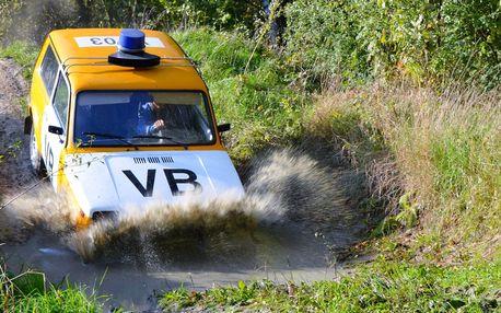Offroad v retro vozech VB s řidičem i jako řidič
