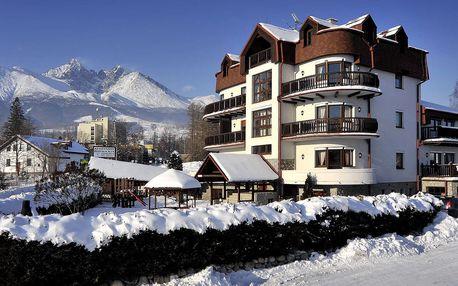 Zima pod Tatrami v apartmánech Beatrice