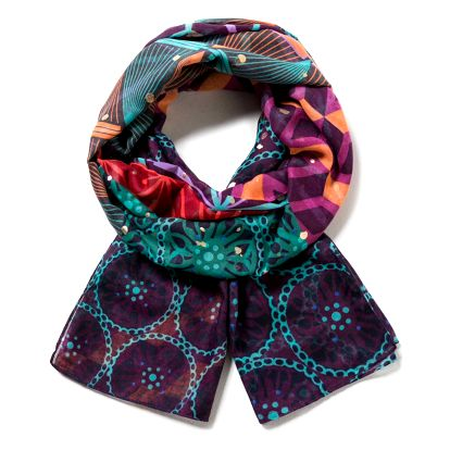 Desigual barevný šátek Erika