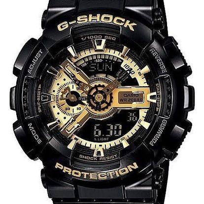 Casio GA 110GB-1A + nůž, pojištění hodinek, doprava ZDARMA, záruka 3 roky