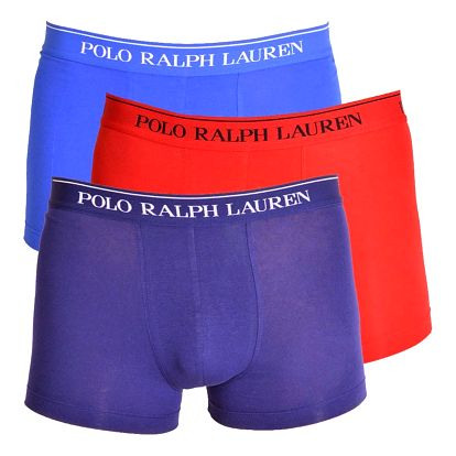 3PACK pánské boxerky Ralph Lauren barevné L