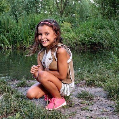 Profesionální focení dětí v Lužáneckém parku