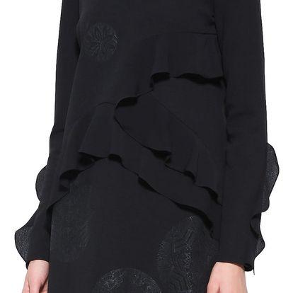 Desigual černé šaty Flopo