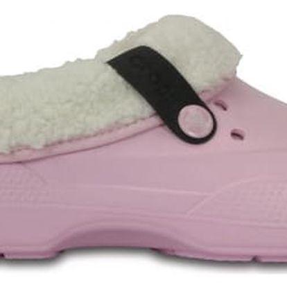 Dámské pantofle Crocs Classic Blitzen, růžové