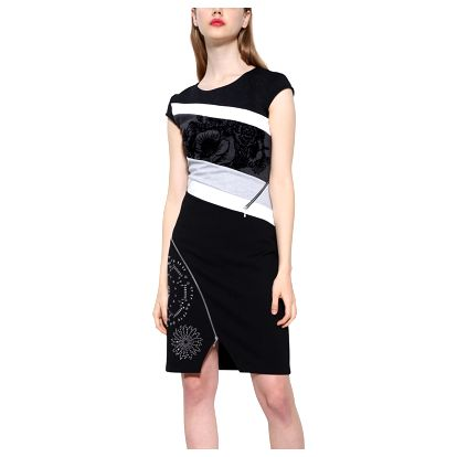 Desigual černé šaty Candice
