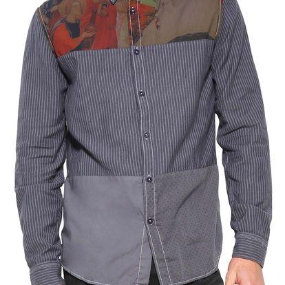 Desigual barevná pánská košile Inooam