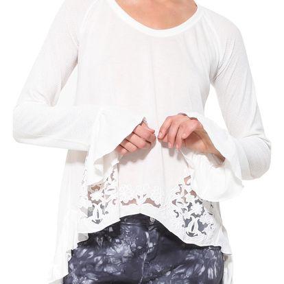 Desigual bílé tričko Nelia