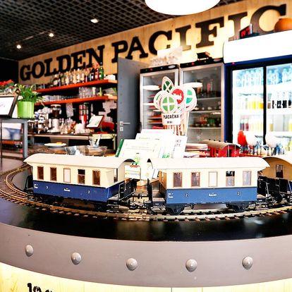Otevřený voucher do Golden Pacific Café