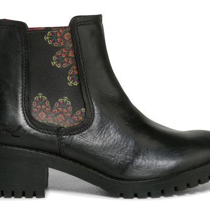 Desigual černé boty Charly Essentials