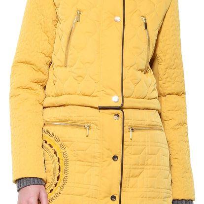 Desigual žlutý multifunkční kabát California