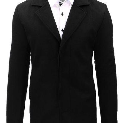 Pánský kabát Lerth černý