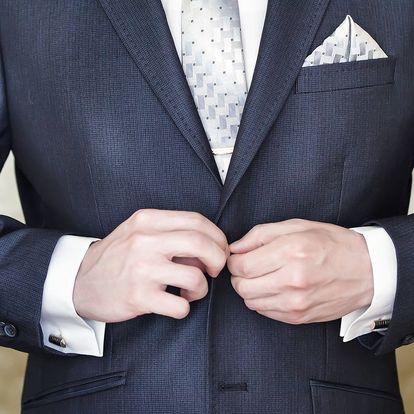 Manžetové knoflíčky nebo set pro gentlemana