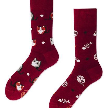 Ponožky Many Mornings Playful Cat,vel.35–38