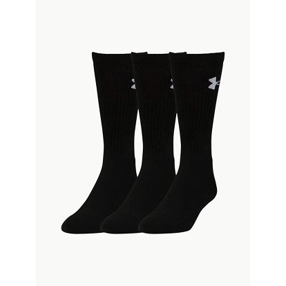 Ponožky Under Armour Elevated Performance Crew Černá